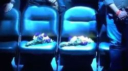 En hommage à Bryant et sa fille, ces deux sièges sont restés vides à
