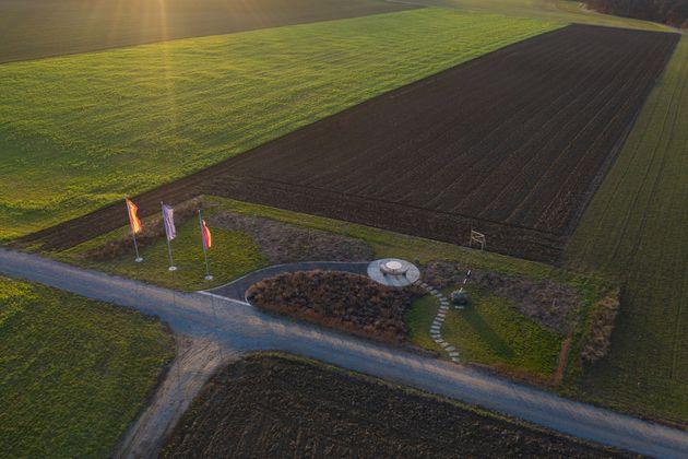Gadheim en Bavière devient le centre géographique de l'Union européenne. Le village...