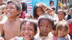 貧困層の子どもたちが、和太鼓をフィリピンで叩く理由。東日本大震災を受けて作られた曲を…