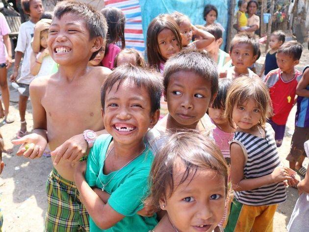 フィリピン・セブ島の子どもたち
