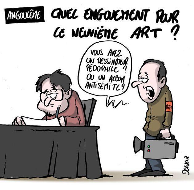 Festival d'Angoulême: Il manque quelque chose à la BD pour rivaliser avec le cinéma...