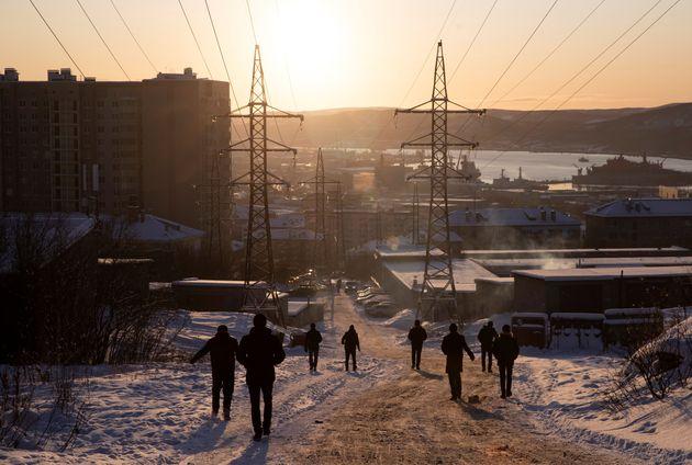 Η Νορβηγία ξέμεινε από χιόνι και φτιάχνει