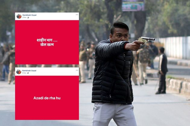 Jamia Firing: Gunman Posted Threats On Facebook Hours Before Shooting