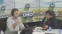 Alsina desarma a Irene Lozano al preguntarle dónde se juega la Eurocopa: su respuesta lo dice