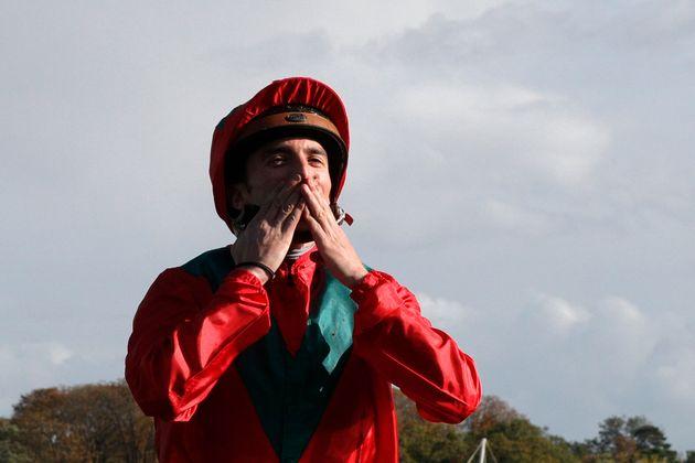 Le jockey Pierre-Charles Boudot, ici lors du Prix de l'Arc de Triomphe 2019 à l'hippodrome de...
