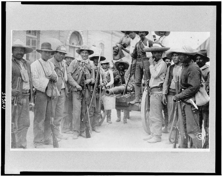 Mexican rebels circa 1911.
