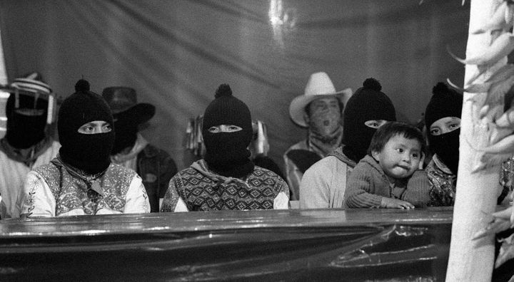 The Zapatista rebellion of the 20th century.