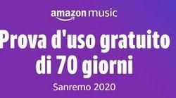 70 giorni di musica gratis: il regalo di Amazon ai clienti per celebrare