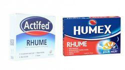 Certains médicaments contre le rhume présentent des risques