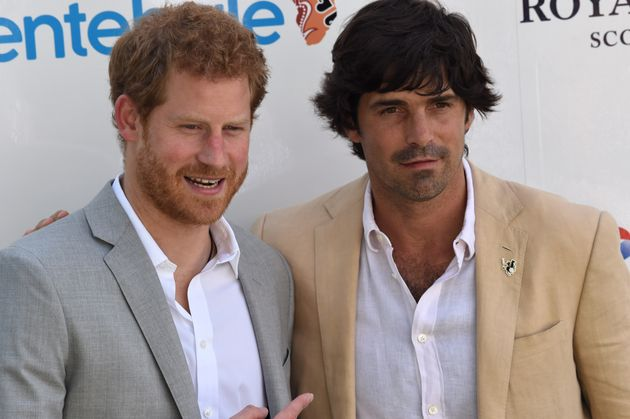 Harry with Argentinian polo player Nacho Figueras at the Singapore Polo Club in Singapore on June 5,