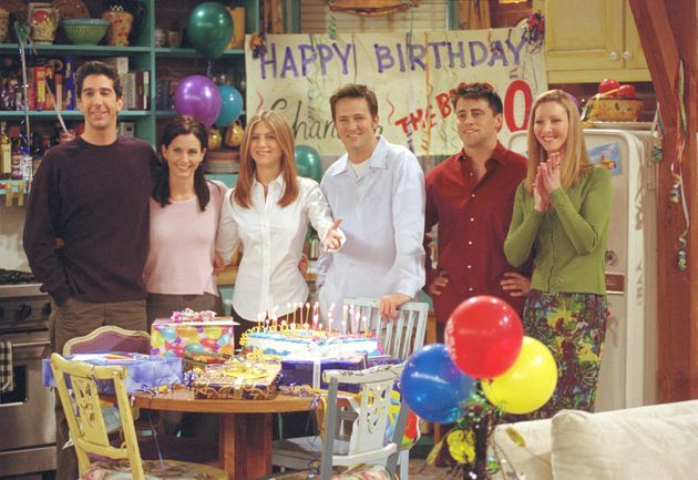 Friends has often been criticised for having an all-white