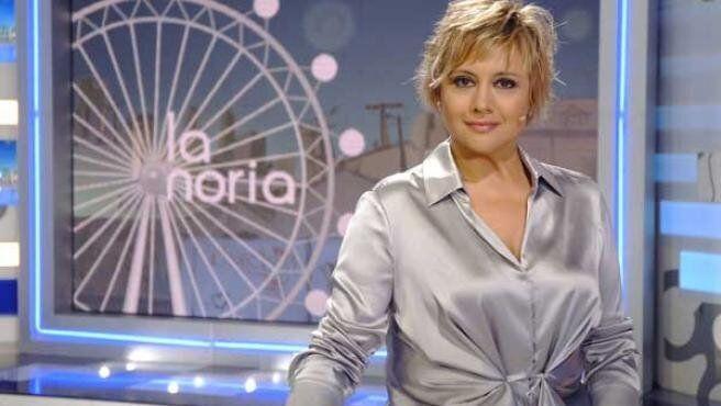 Glòria Serra fue copresentadora de 'La Noria' entre 2007 y 2010.