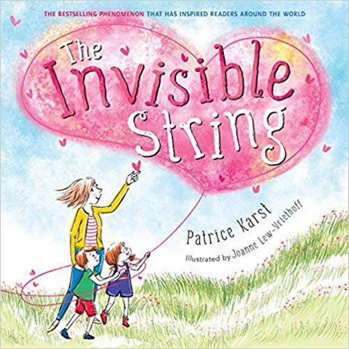 """The Invisible String"" has an important message: You're always close to your loved ones, no matter what happens."