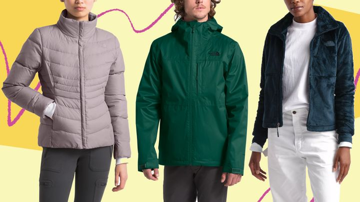These North Face jackets are on sale -- and will be perfect for the next time it's 20 degrees outside.