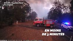 Cette vidéo montre l'effrayante vitesse des feux
