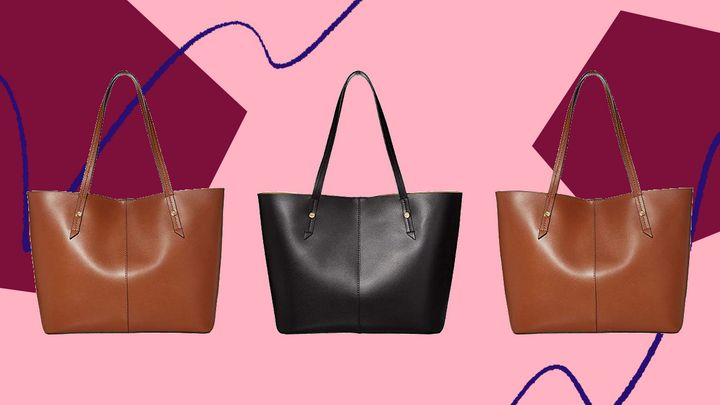 This leather J.Crew tote bag can do it all, and it's on sale for nearly $100 off.