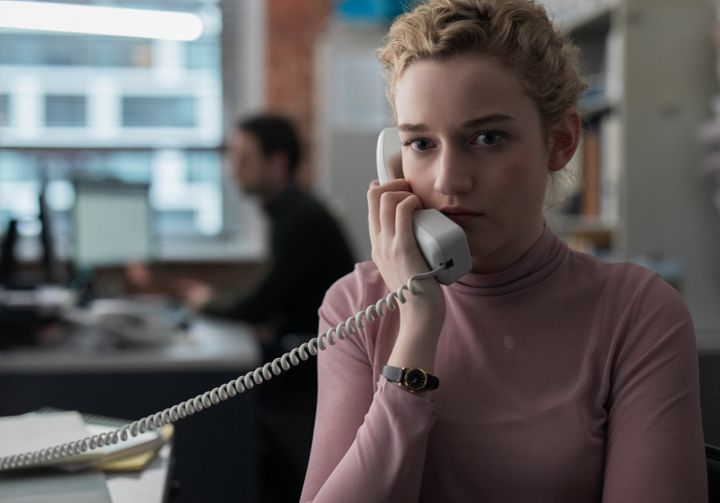 """Julia Garner stars as Jane in """"The Assistant,"""" directed by Kitty Green."""