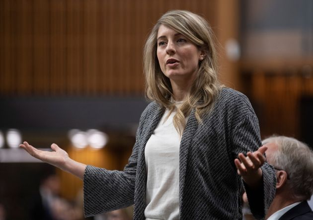 Economic Development Minister Melanie Joly responds in the House of Commons on January 30,