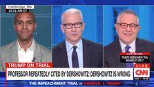 法人の教授Alan Dershowitz都市防衛の切り札とDershowitzが間違ってい