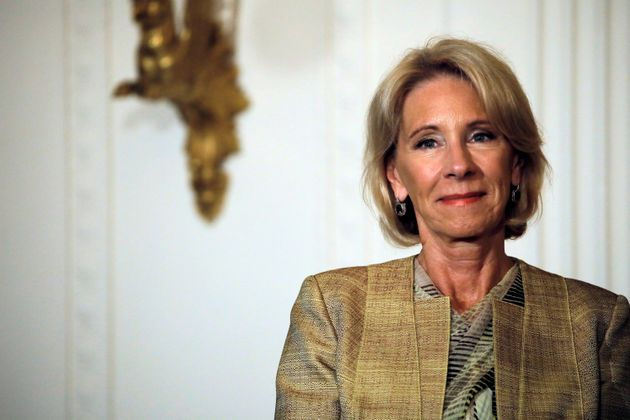 Education Secretary Betsy DeVos rescinded guidelines about transgender students' use of school bathrooms...
