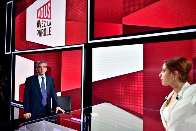 François Fillon explique, sur le plateau de