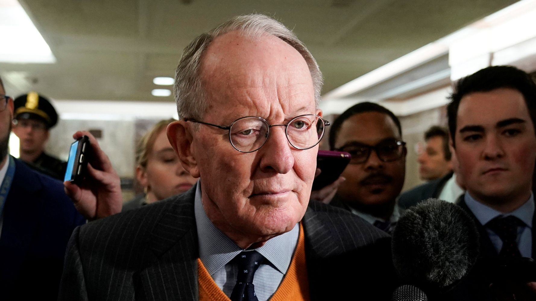 Westlake Legal Group 5e337a921f0000ac0b85a6a9 Lamar Alexander Says He'll Vote Against Witnesses In Trump Impeachment Trial