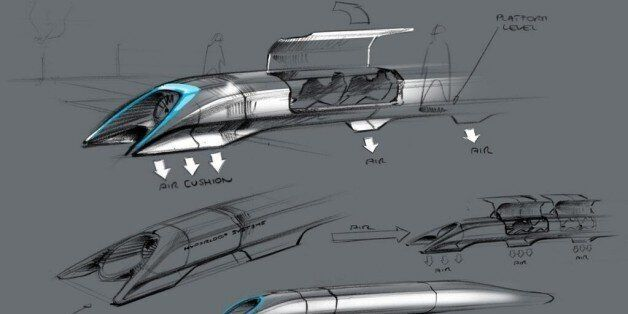 「ハイパーループ」ついに誕生? テスラCEO考案の最高時速1200kmの超高速列車