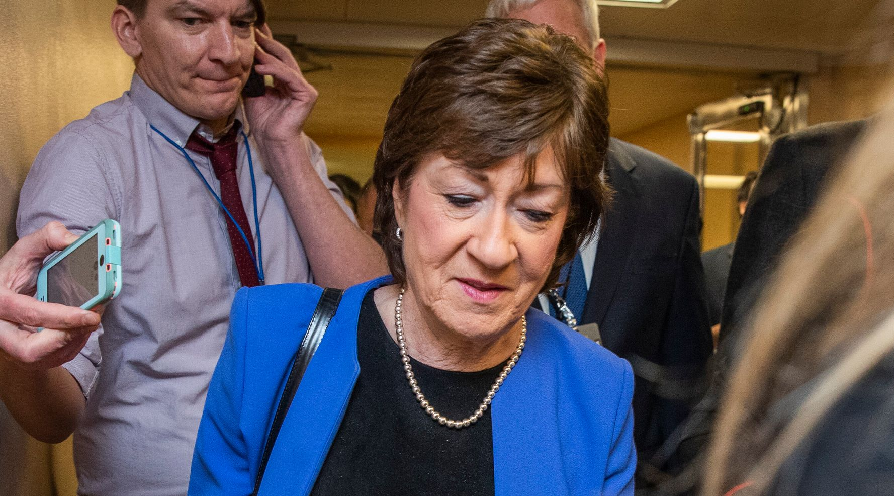 Westlake Legal Group 5e33a5412400005c0a0b76b3 Sen. Susan Collins Says She'll Vote For Witnesses In Impeachment Trial