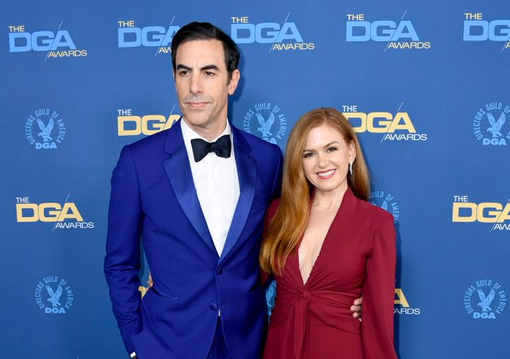 Sacha Baron Cohen and Isla Fisher are the parents of Olive, Elula and Montgomery.