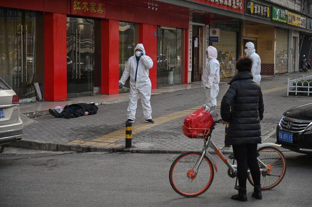 Κορονοϊός: Εάν ο φόβος του θανάτου αποτυπωνόταν σε φωτογραφία θα ήταν σε αυτή από την πόλη