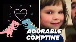 Cette chanson sur les dinosaures d'une enfant de 3 ans est vite devenue un