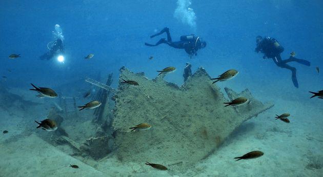 Τεκμηρίωση καταλοίπων νεώτερου ναυαγίου στα δυτικά του όρμου του Πόρου
