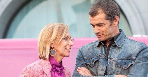 Rosa Díez y el diputado de Ciudadanos en las Cortes de Valencia Toni