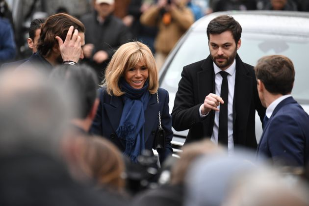 Brigitte Macron est venu rendre un dernier hommage à