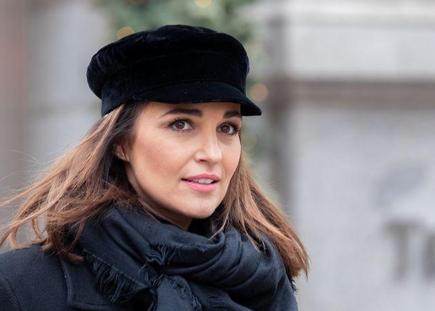 Paula Echevarría, fotografiada el 3 de enero en