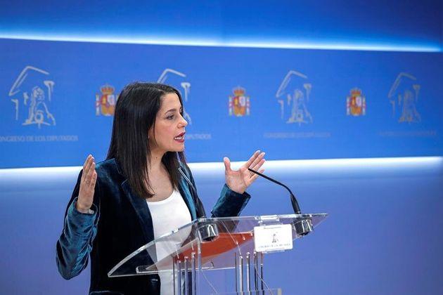 La portavoz de Ciudadanos en el Congreso, Inés