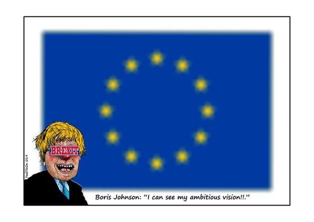 Οι Βρετανοί γελοιογράφοι αποχαιρετούν την Ευρωπαϊκή