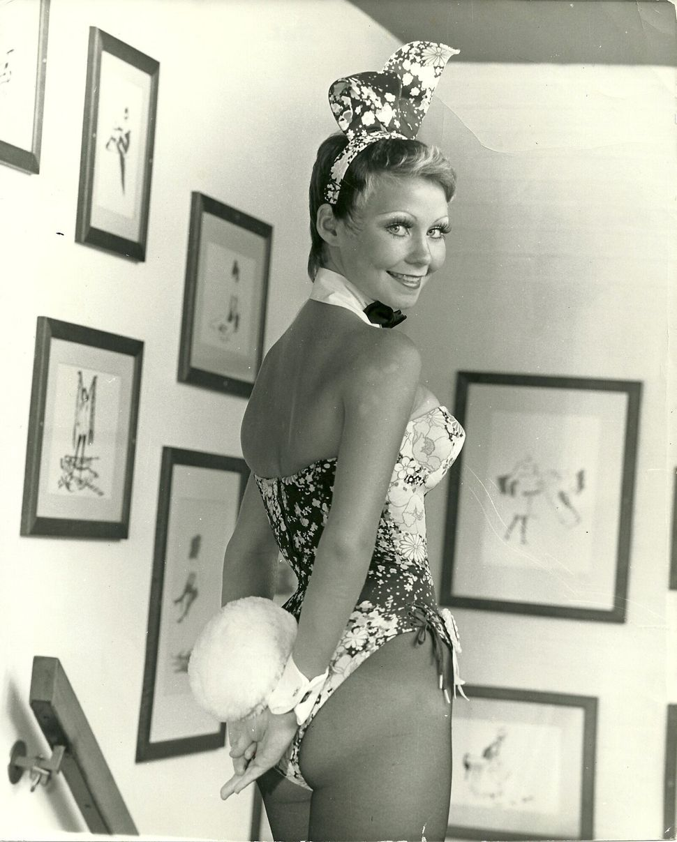 Candace Collins Jordan's first Bunny photo was shot at the St. Louis Playboy Club in 1973.