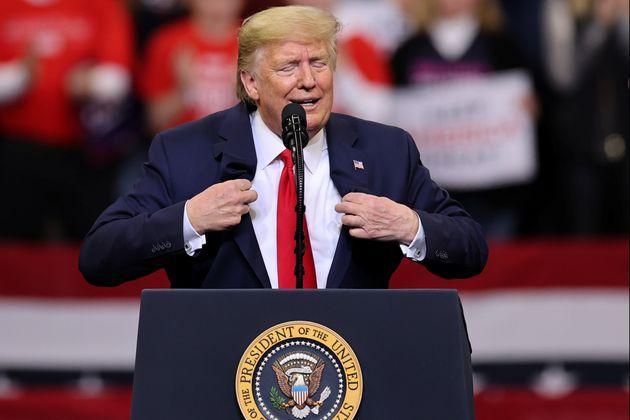 Donald Trump à Des Moines dans