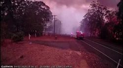 Las imágenes que muestran lo rápido que se propaga el fuego en