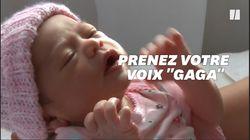 Accentuer les mots lorsque vous parlez à un bébé, c'est excellent pour