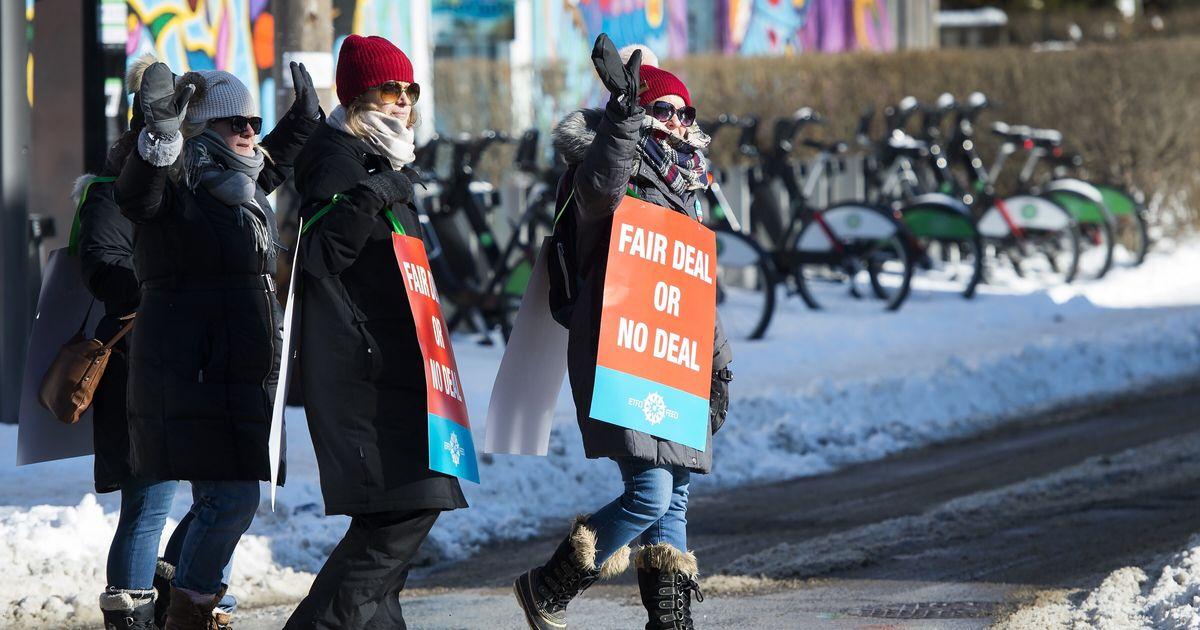 1つのオンタリオ州教師組合を除くすべてが交渉テーブルに戻る