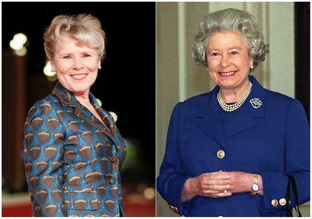 Imelda Staunton et la reine Elizabeth