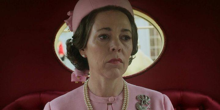 Olivia Colman, dans «The Crown».