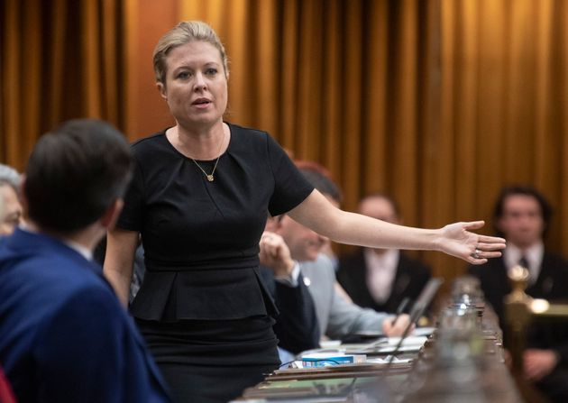 Conservative MP Michelle Rempel Garner rises in the House of Commons on Dec. 13,