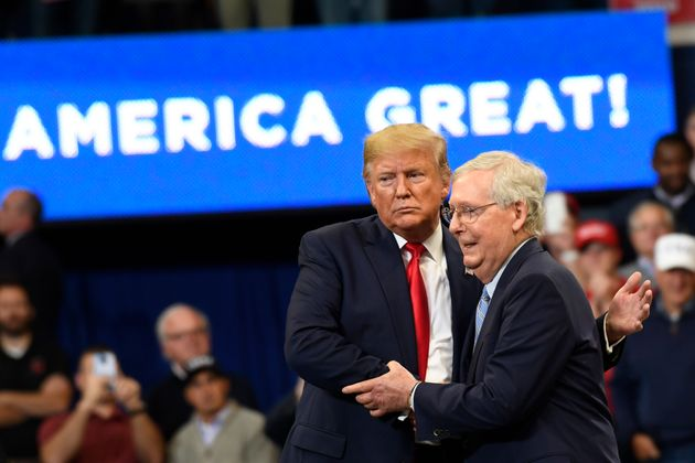 """Senate Majority Leader Mitch McConnell said last year that he was """"not an impartial juror"""