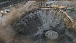 Ρωσία: Κατάρρευση οροφής σταδίου - Ένας