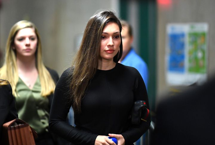 Former actor Jessica Mann testified against Harvey Weinstein in New York City on Friday, saying the disgraced film mogul rape