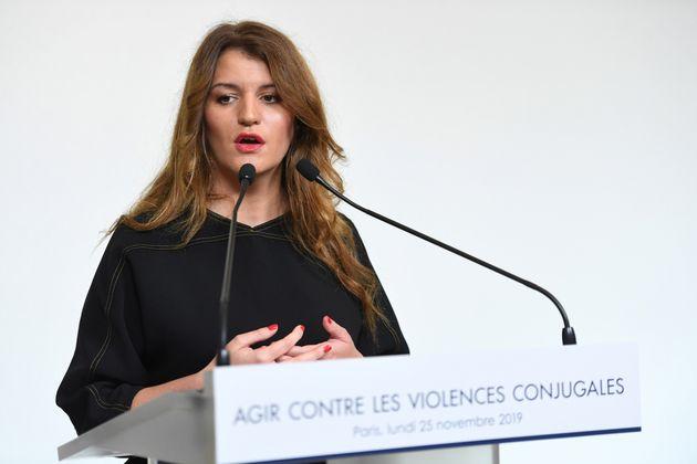 Marlène Schiappa, ici à Paris le 25 novembre