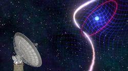 Επιστήμονες «είδαν» άστρα να παραμορφώνουν τον